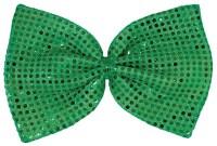 Giant Green Sequin Bow Tie - 294507   Trendyhalloween.com