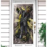 Zombie Door Decoration - 335369   trendyhalloween.com