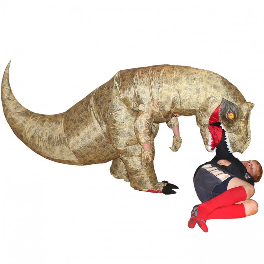 Giant T Rex Inflatable Child Costume 393433