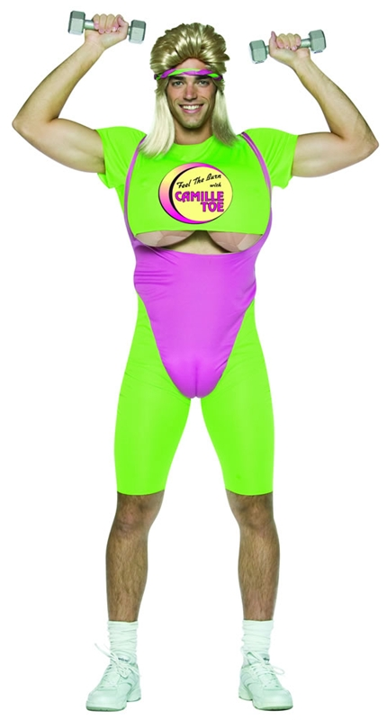 Deluxe Camille Toe Workout Adult Costume