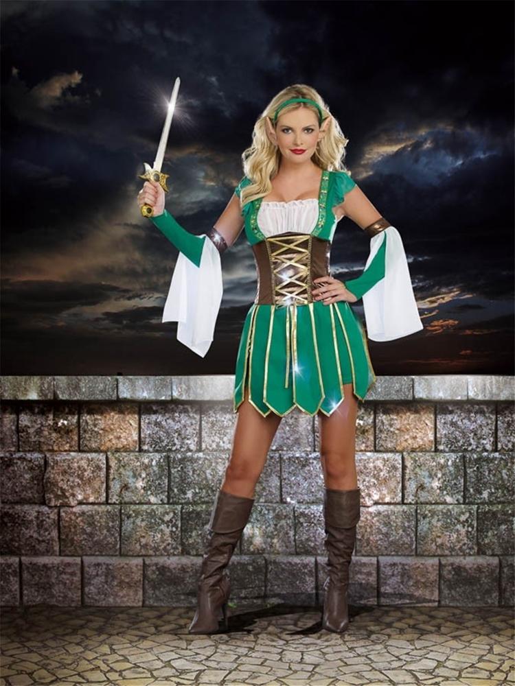 Warrior Elf Adult Womens Costume  296139  trendyhalloweencom