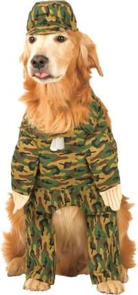 Rambark Army Pet Costume