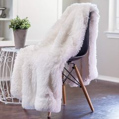 Fuzzy Sofa Slipcover Bed In Costco Christmas And New Year Decorative Throw Pillow Covers