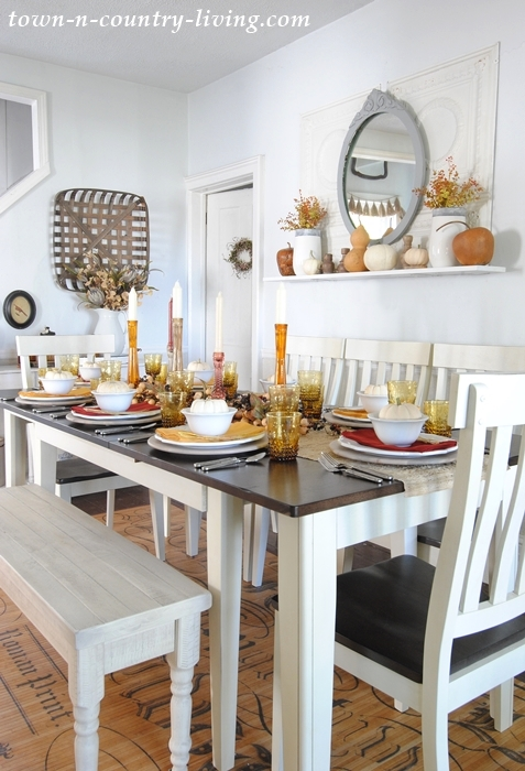 Fall Farmhouse Chic Interior Decor