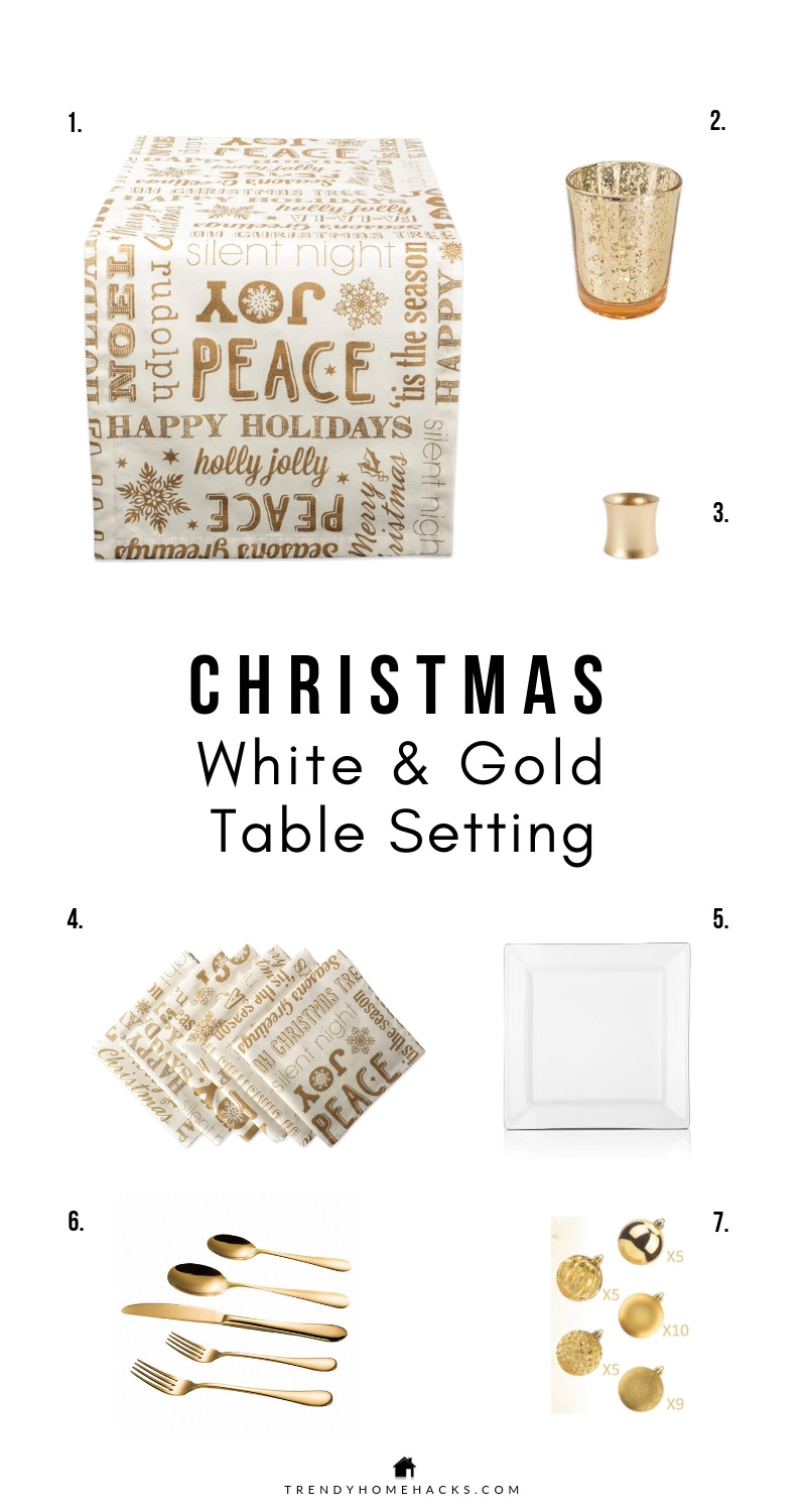 Christmas Table Settings: Modern Farmhouse Styling Ideas
