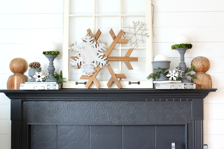 Neutral winter decor: how to decorate after Christmas