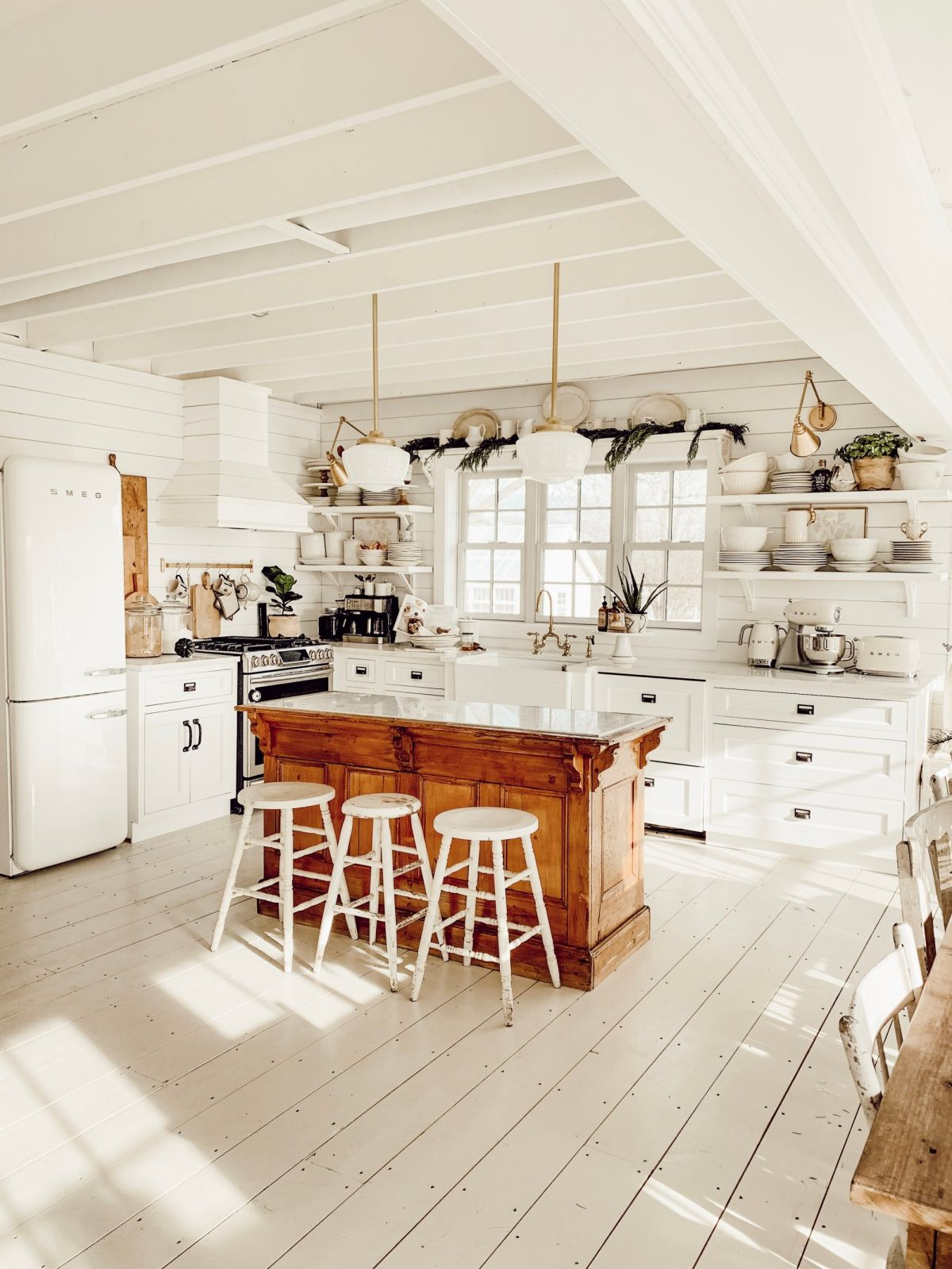 How to get the Farmhouse Style Kitchen