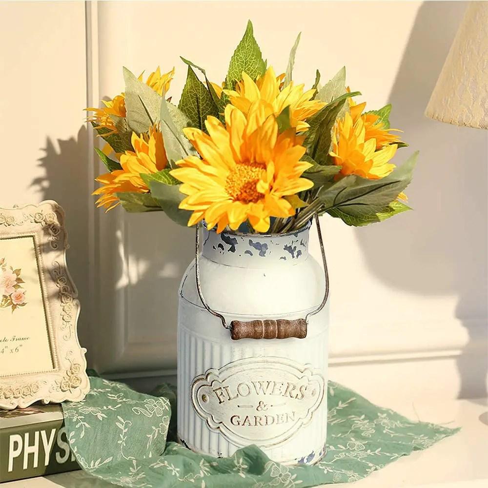 Farmhouse-Bucket-Vase-with-Handle