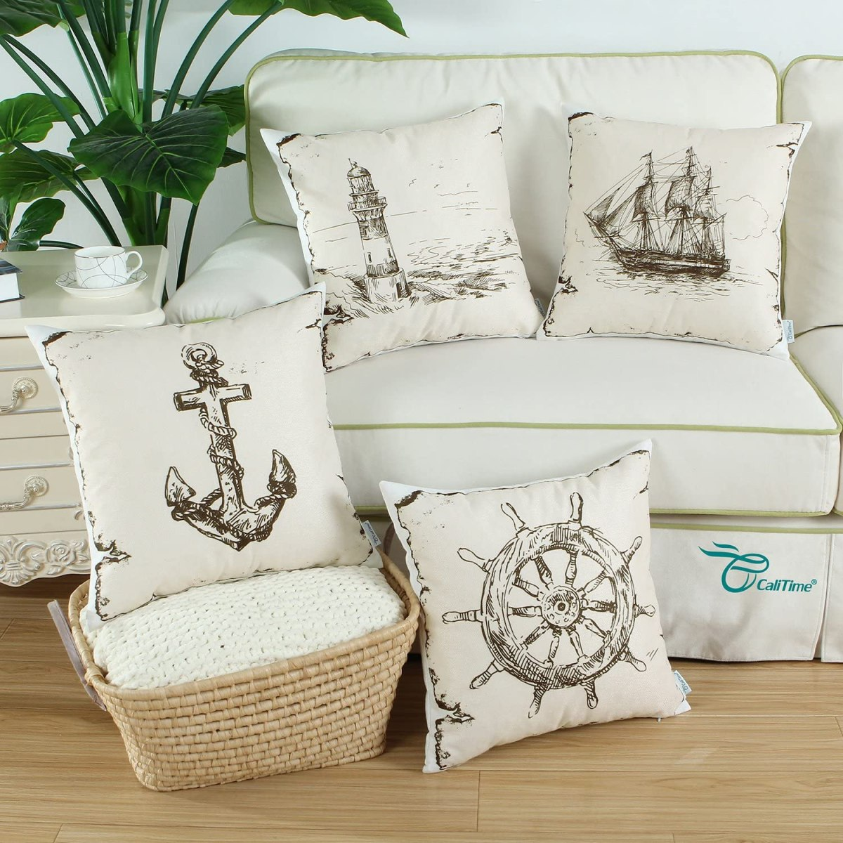 Nautical-Neutral-Pillow-Covers