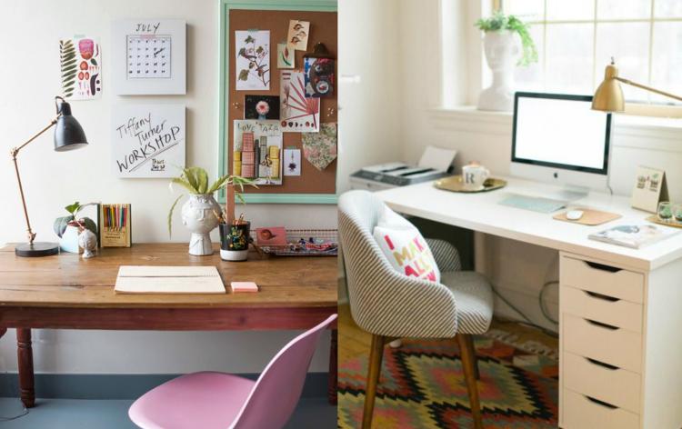 Cómo decorar nuestro espacio de trabajo en casa