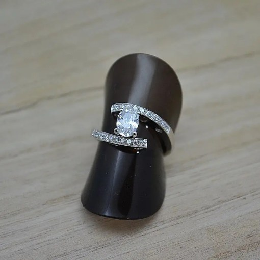 Zilveren verlovingsring Trento Edmee online kopen | Trendy Juweeltjes