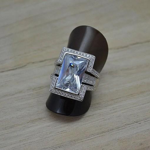 Zilveren dames ring Trento Elke online kopen   Trendy Juweeltjes