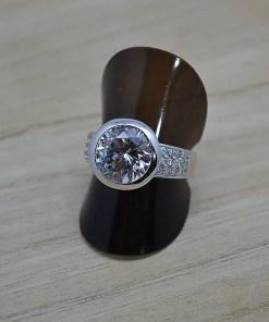 Zilveren verlovingsring Trento Vienna online kopen | Trendy Juweeltjes