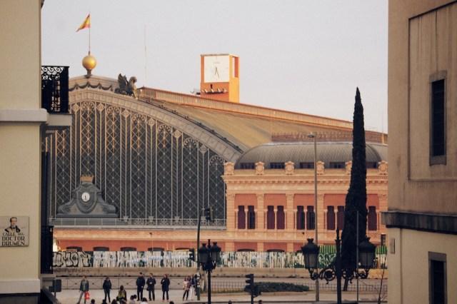 Gare d'Atocha à Madrid