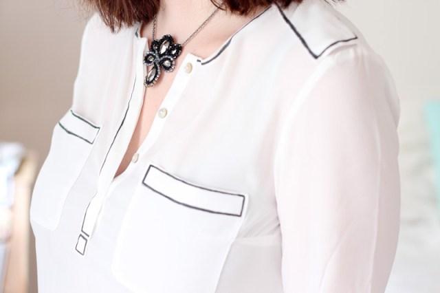 DIY – La chemise blanche crayonnée