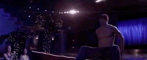 Channing Tatum dans Magic Mike