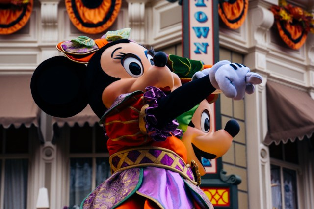 Disneyland Paris Halloween Mini Parade-15