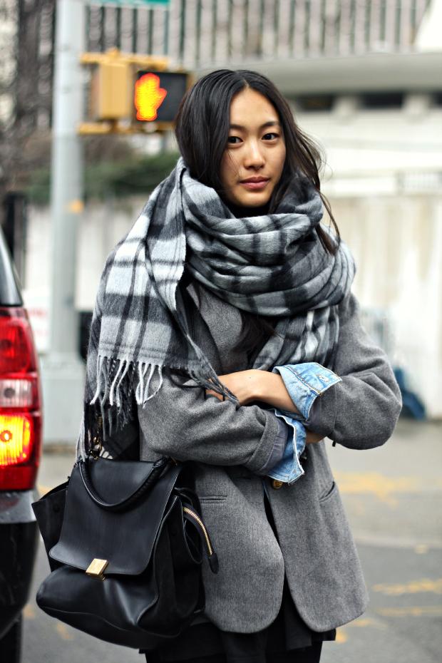 street style écharpe - modeljam