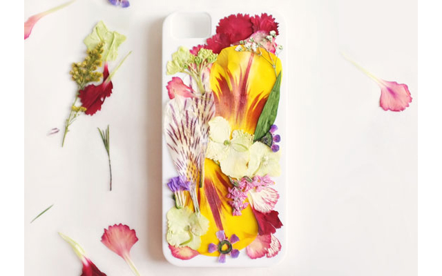 DIY coque d'Iphone fleurie Etsy