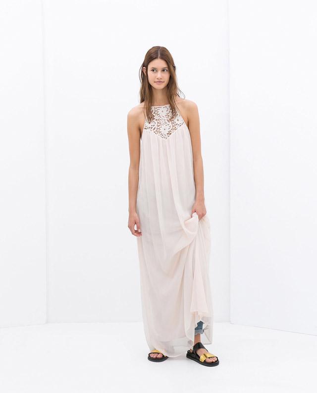 Zara robe longue 1