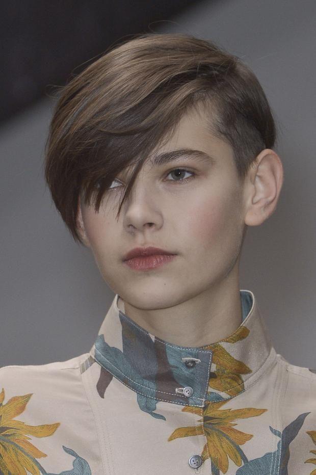 girl short hair 1