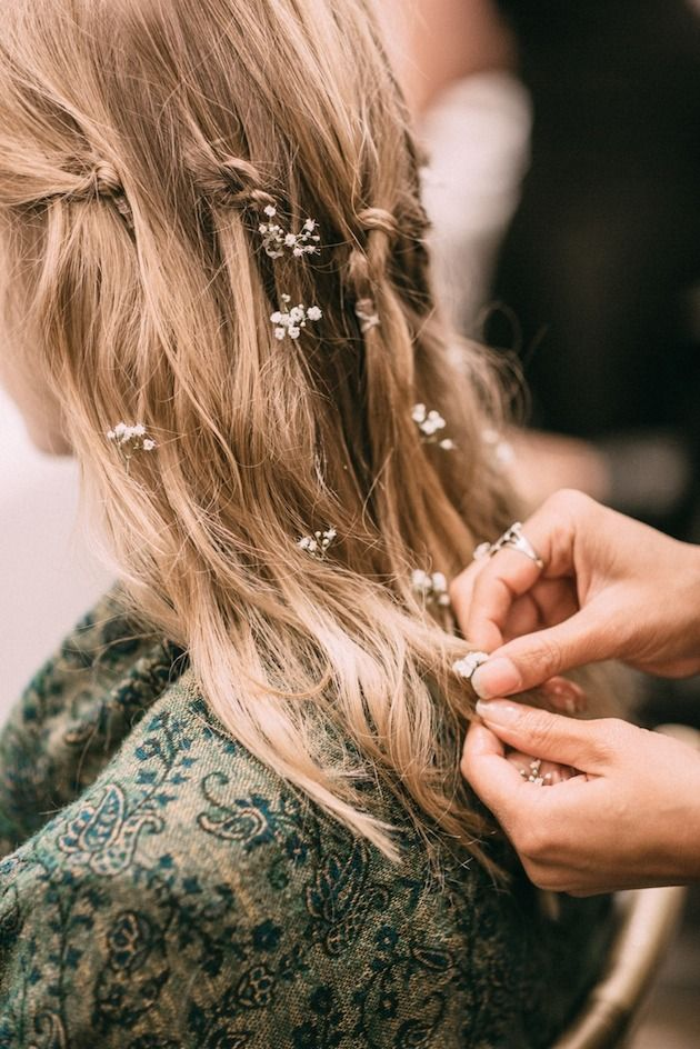 Flowers in the Hair - Bridal