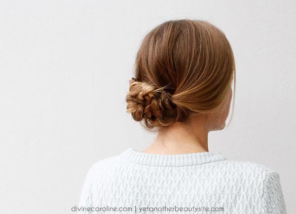 Easy Braided Hairstyle - Divine Caroline