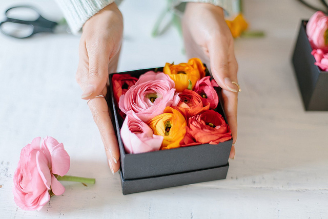 Flowers Box DIY
