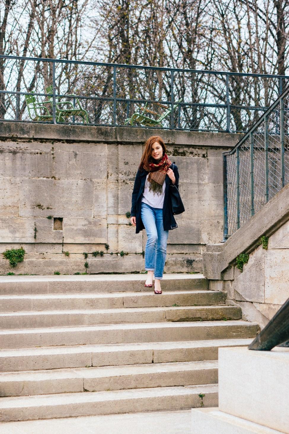 Célie - Jardin des Tuileries-2