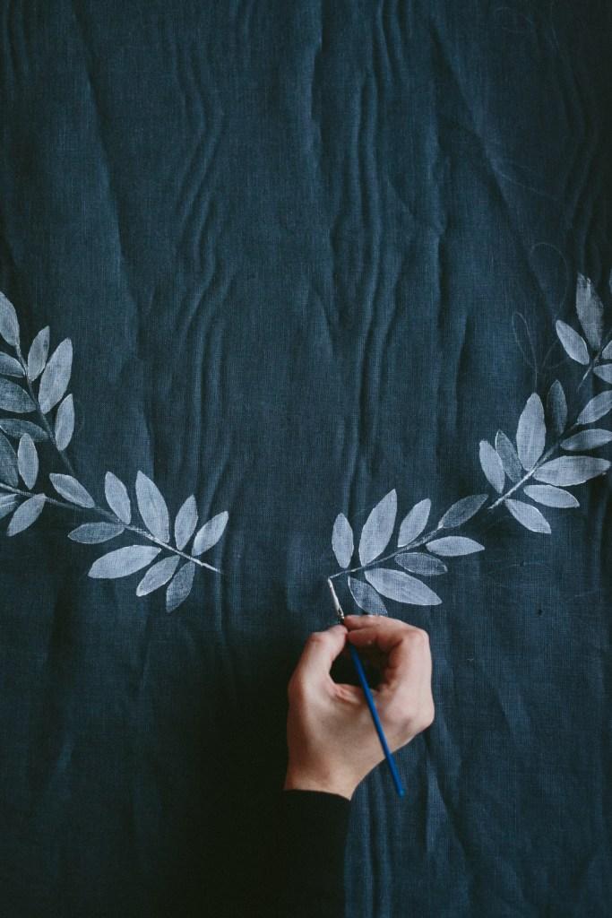 DIY Textil Tryck