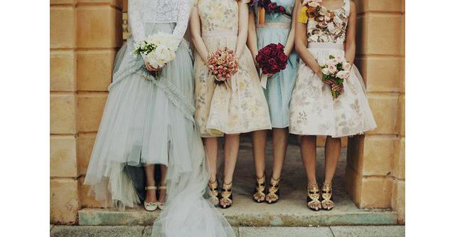 Pinterest Mariage Demoiselles