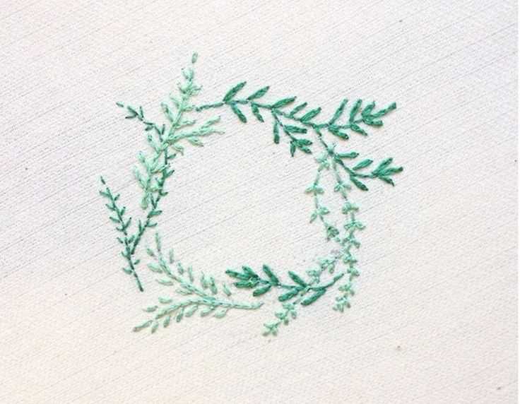 broderie - couronne