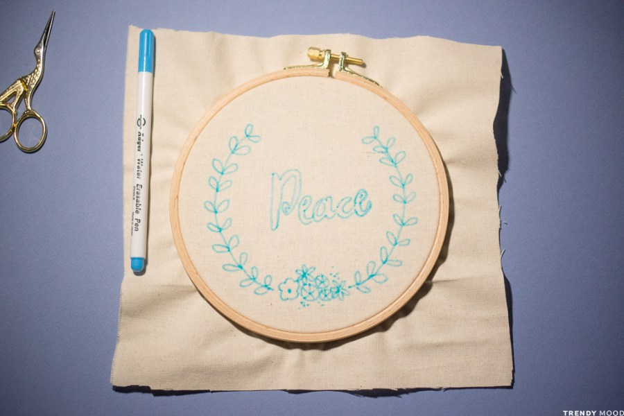 Broderie - Toile vierge