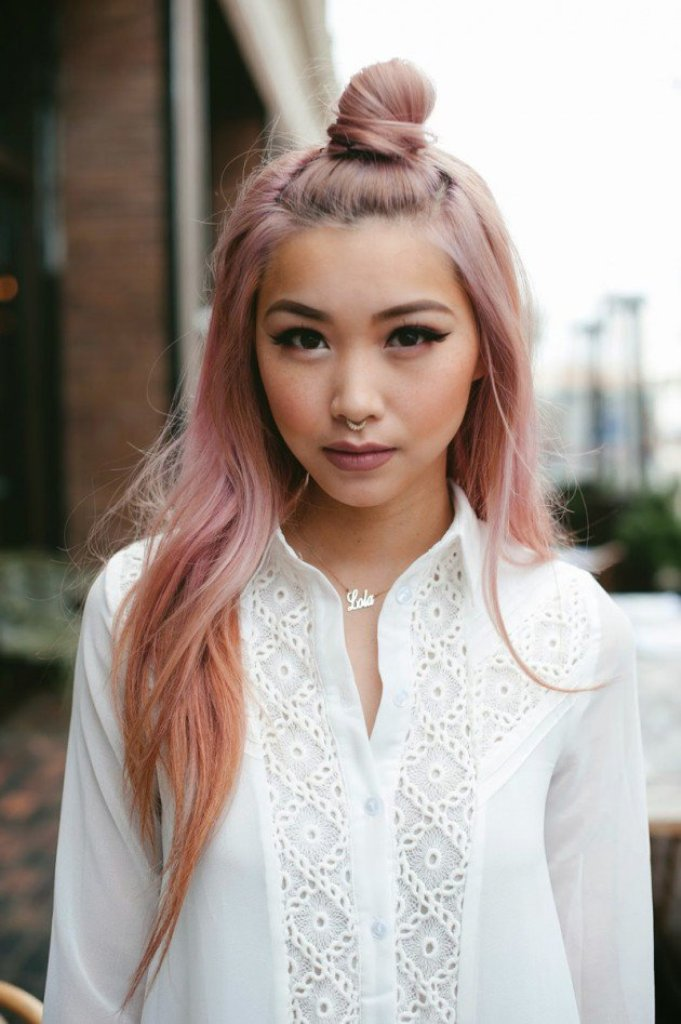 Pin Pink Hair