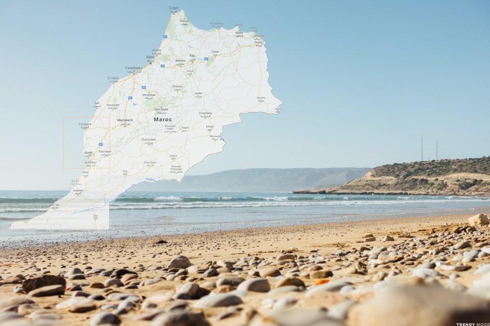 Maroc-Carte