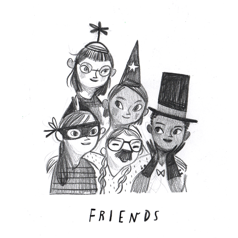 Rebecca Green - Friends