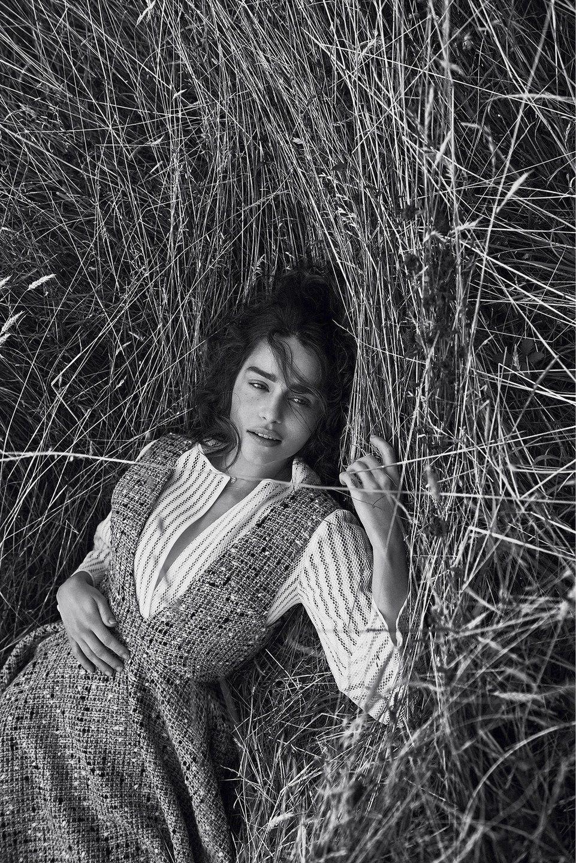 Emilia Clarke pour Dior Magazine