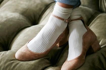Chaussettes et escarpins