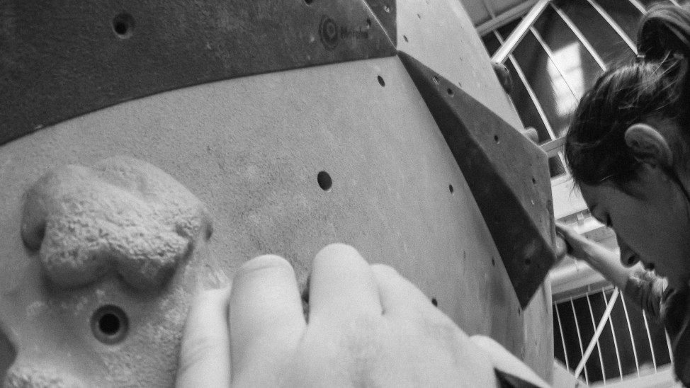 Voie d'escalade Murmur Pantin