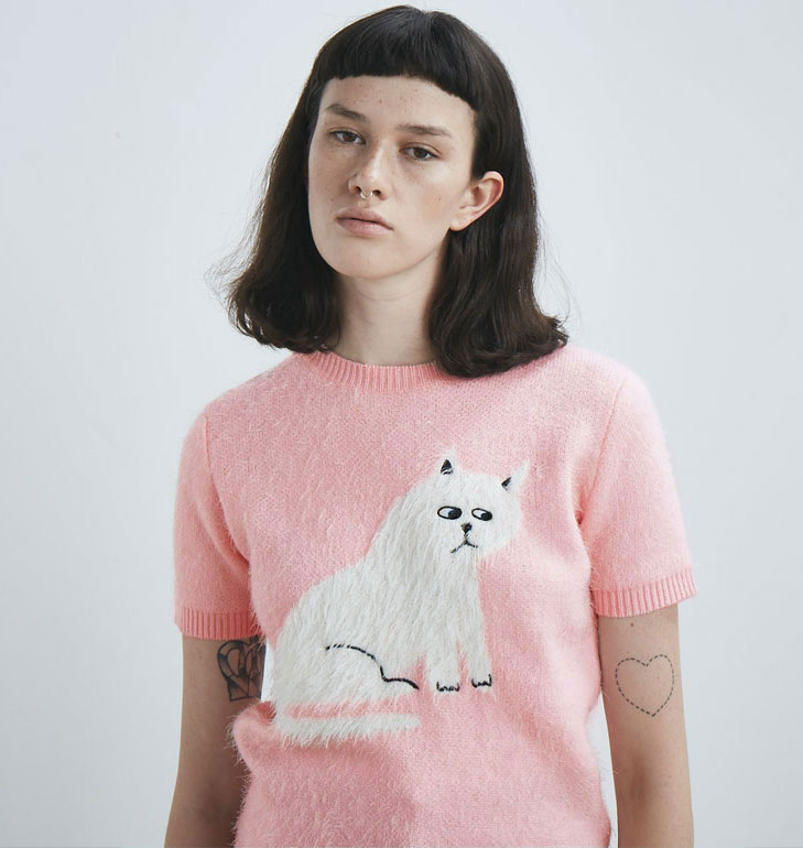 Pull Kitty Lazy Oaf