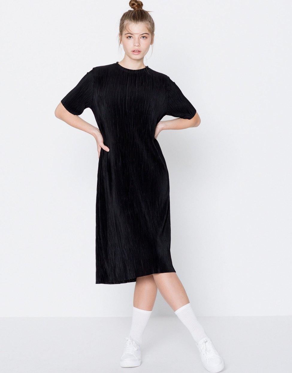 Robe plissée Pull & Bear