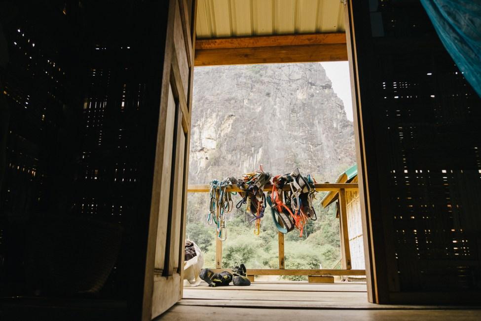 Site d'escalade à Thakek - Laos-2