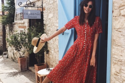 Inspiration robe fleurie - Polienne