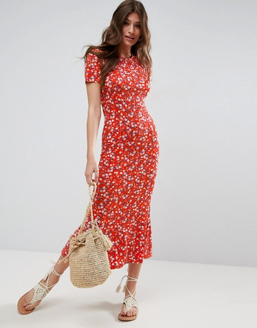 Robe City Floral Print Asos