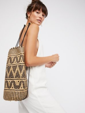 Palma Rattant Backpack Free People