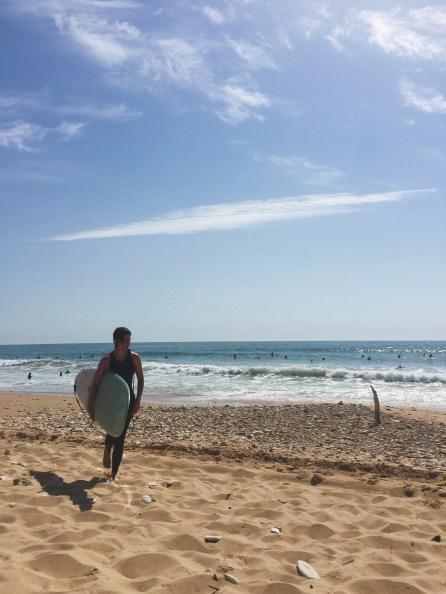 Surfeuse à Vert Bois, Oléron