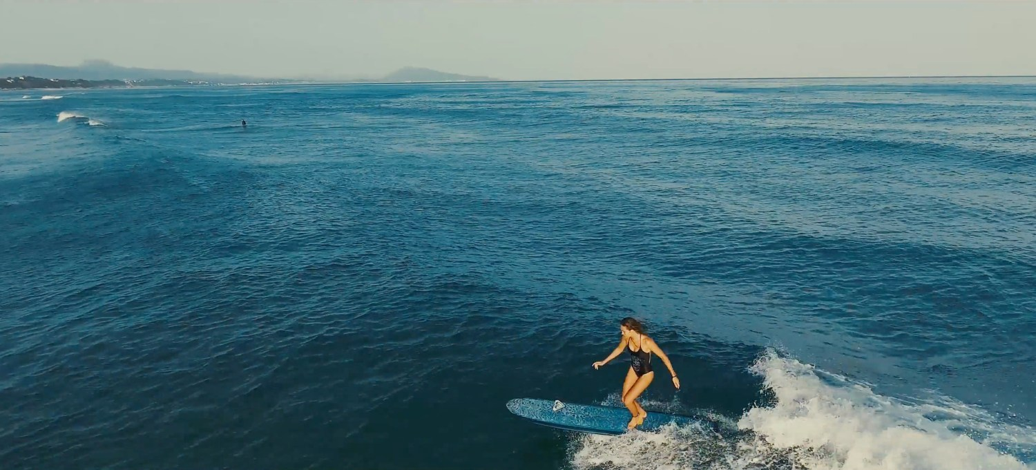 Justine Mauvin - Longboard - Pays Basque