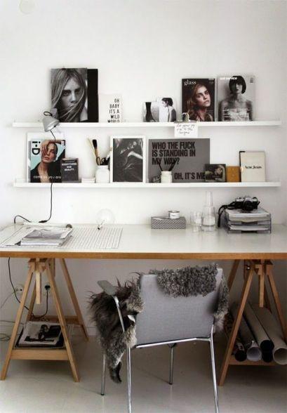 Bureau minimaliste - Rangement du bureau