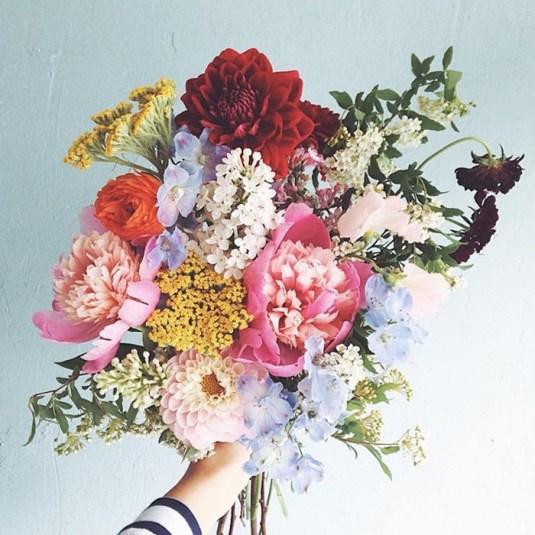 Bouquet de fleurs d'Eunyoung Lee