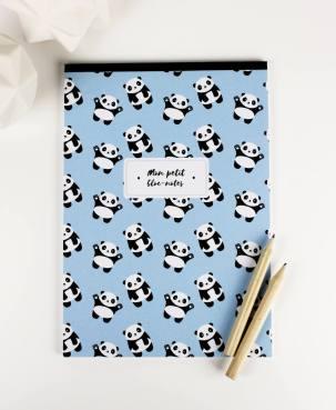 Bloc notes panda